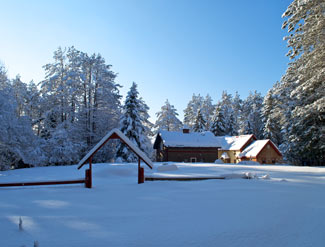 Secluded Winter Getaway